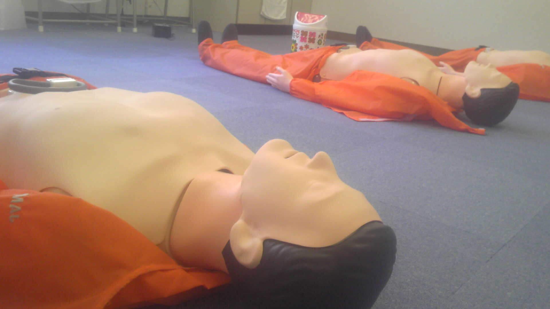 応急救護のお勉強